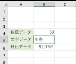 Excel特融の文字入力