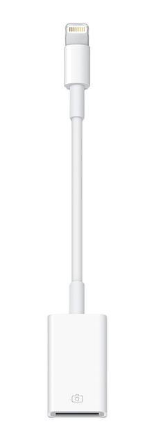 Lightning - USBカメラアダプタ ¥2,800(税別)