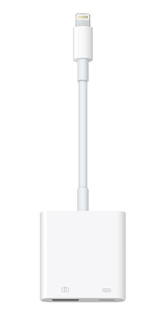 Lightning - USB 3カメラアダプタ