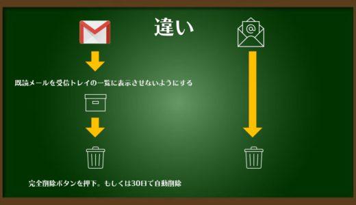 Gmail削除したつもりのメールは実は消えていない(すべてのメール)簡単削除方法とは